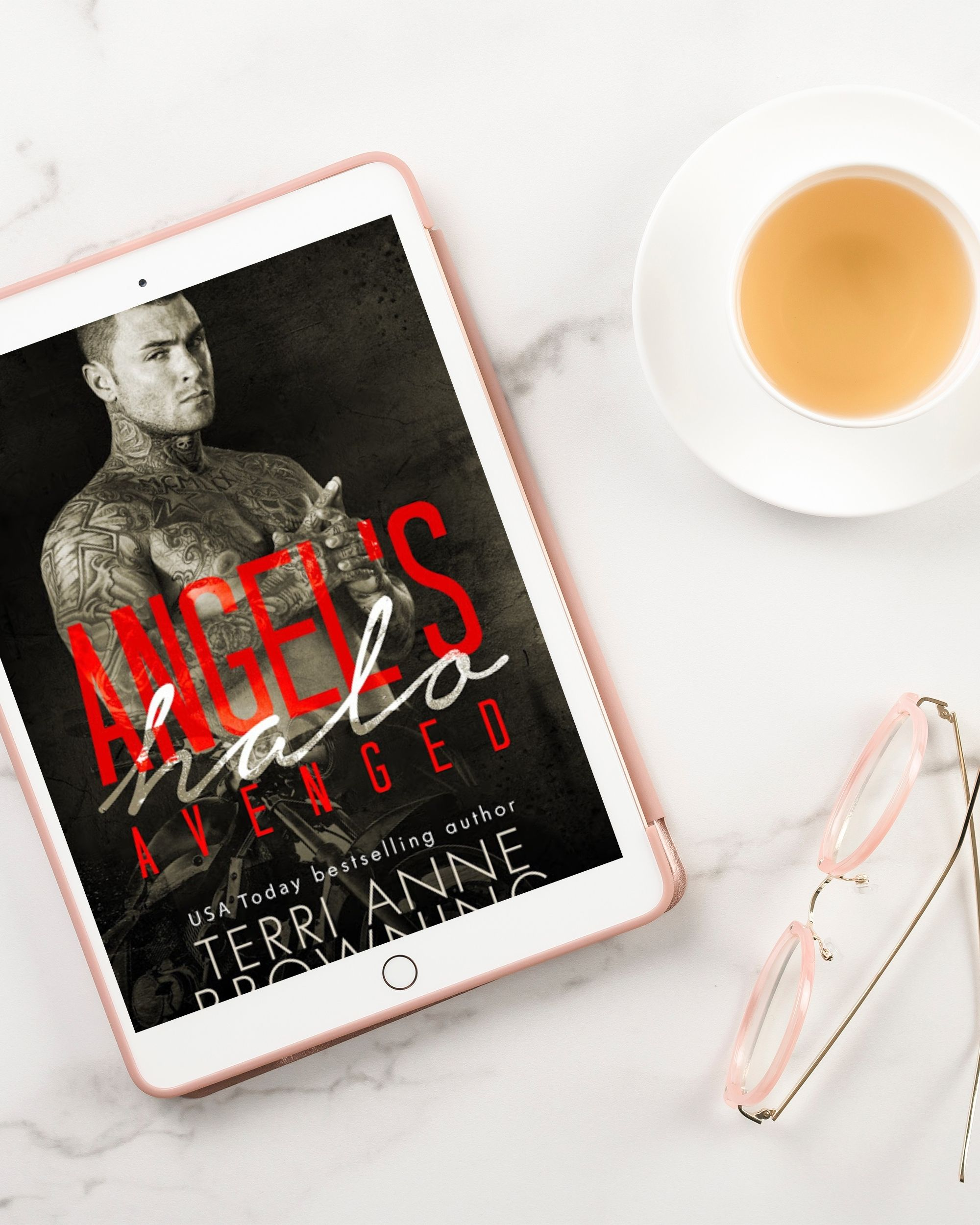 COVER REVEAL: Angel's Halo: Avenged by Terri Anne Browning