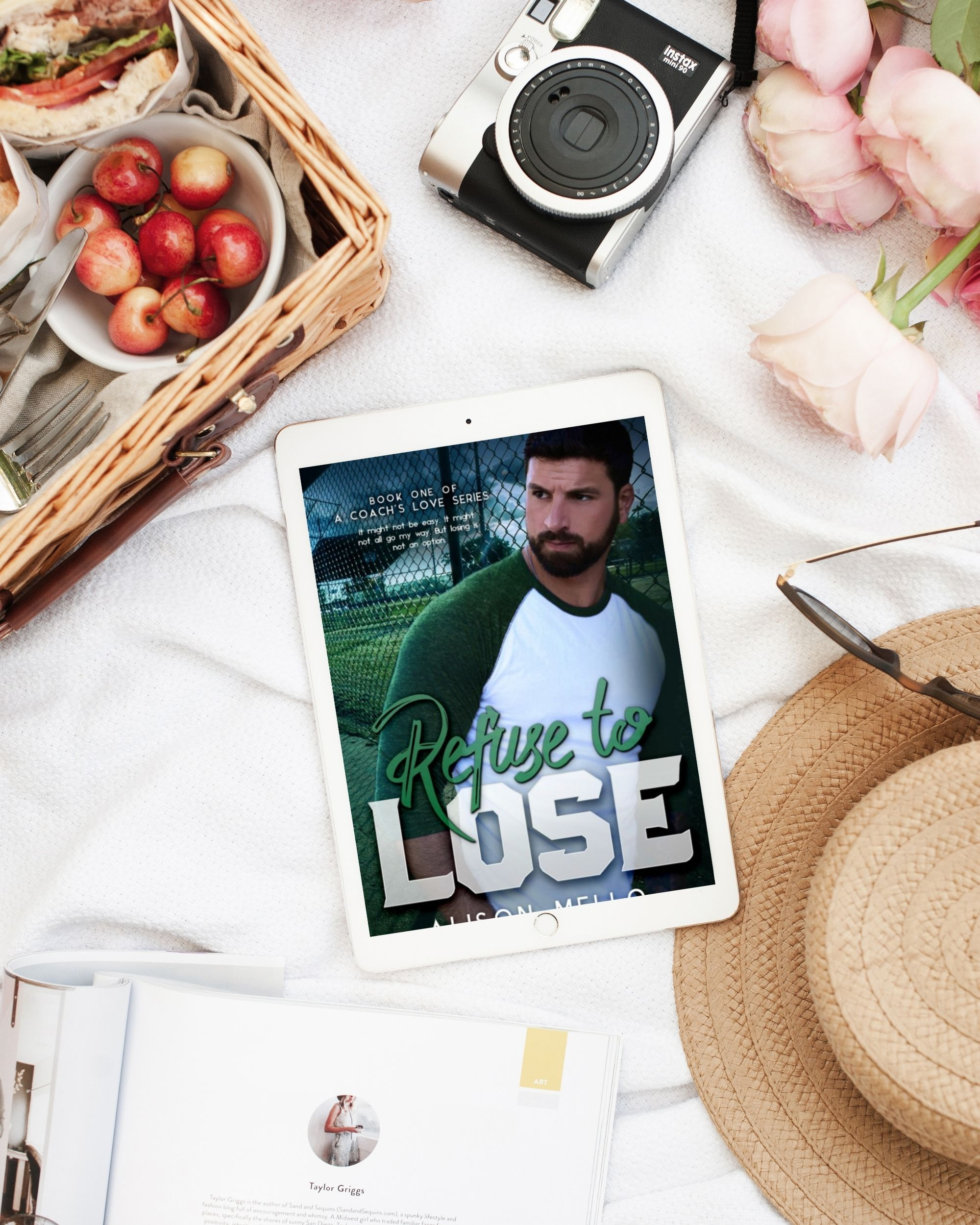 Refuse to Lose by Alison Mello at Wickedly Romance