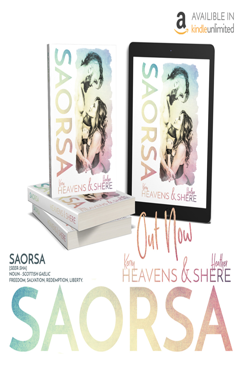 RELEASE BOOST: Saorsa by Kerry Heavens & Heather Shere
