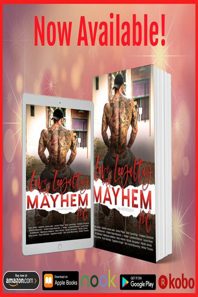 Love, Loyalty & Mayhem: A Motorcycle Club Romance Anthology Release Boost