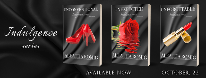 Indulgence Series by Aleatha Romig - Cover Reveal