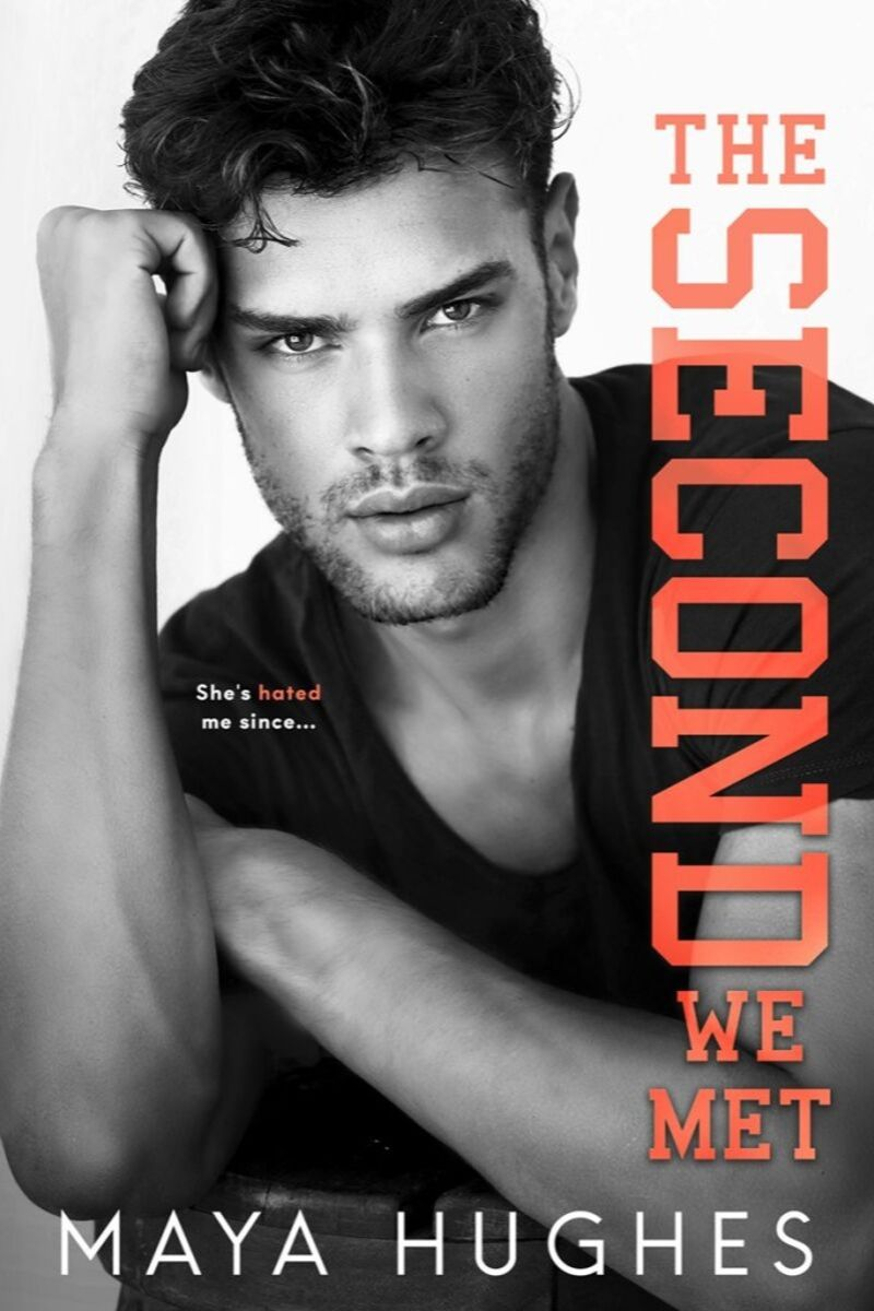 The Second We Met by Maya Hughes- Cover Reveal