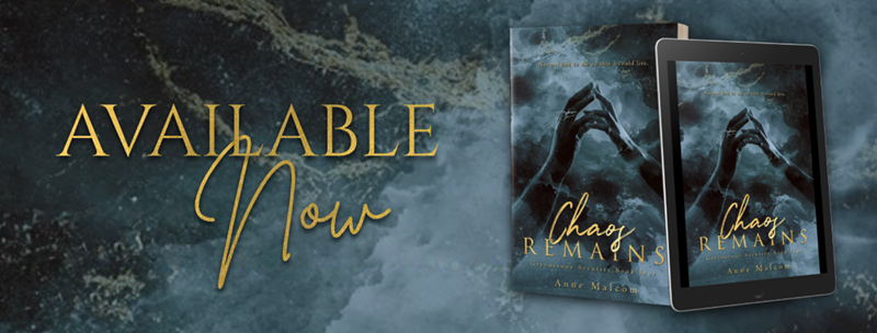 Chaos Remains by Anne Malcom - Release Blast