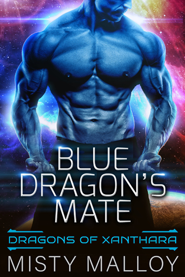 Blue Dragon's Mate by Misty Malloy