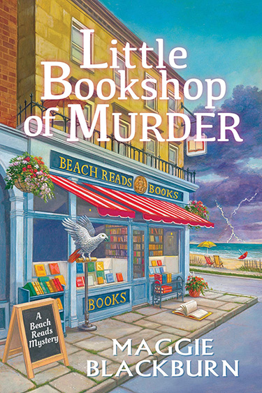 Little Bookshop of Murder  by Maggie Blackburn