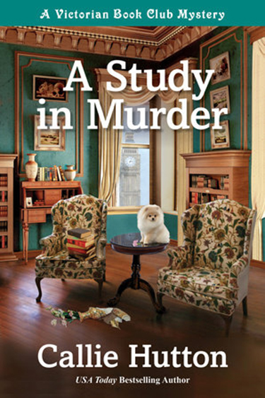 A Study in Murder A Victorian Book Club Mystery by Callie Hutton