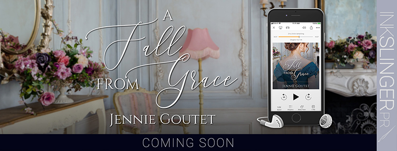 A Fall From Grace by Jennie Goutet Coming Soon