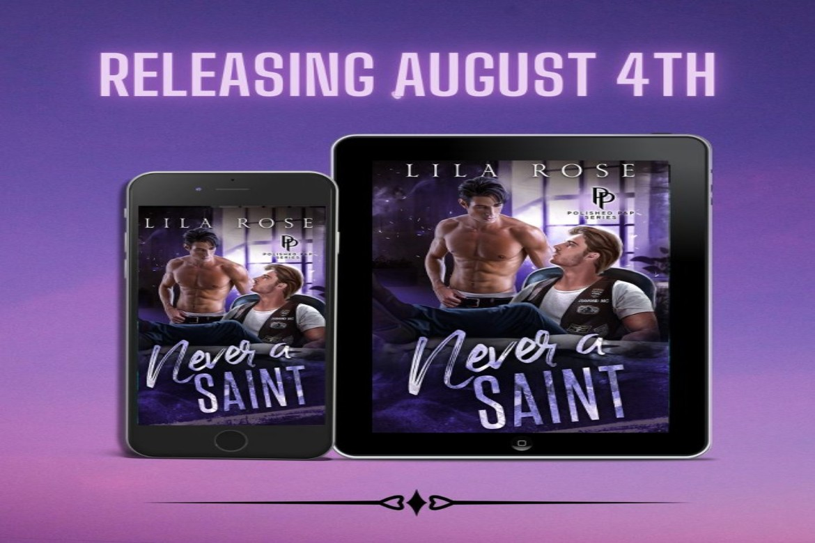 Never a Saint by Lila Rose Cover Reveal