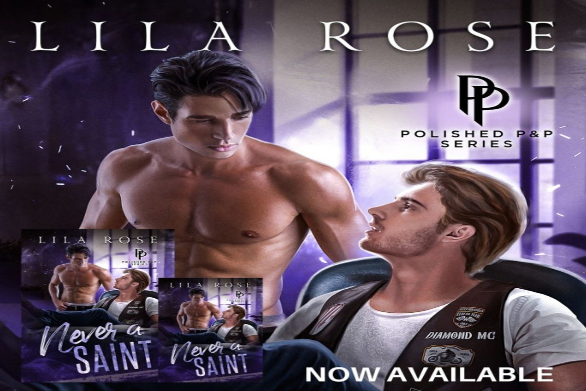Never a Saint by Lila Rose