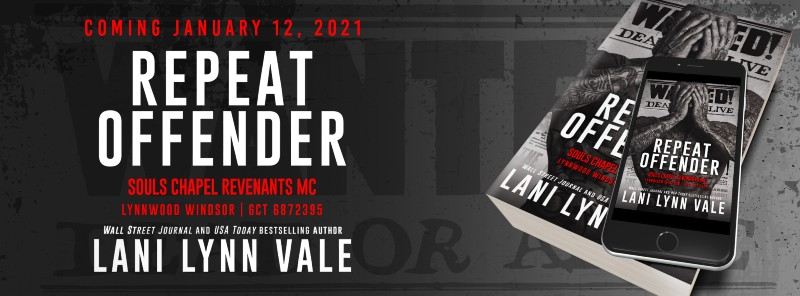 Repeat Offender by Lani Lynn Vale Cover Reveal