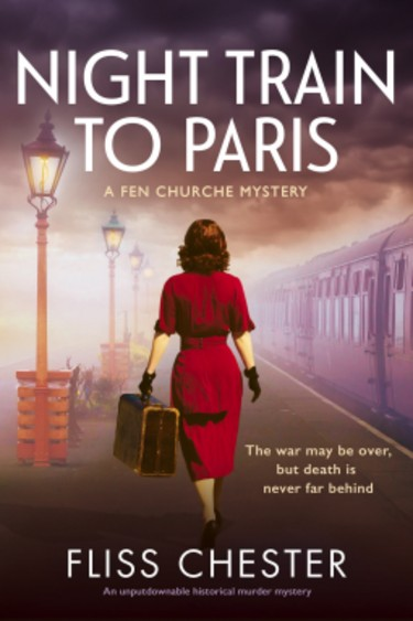 Night Train to Paris  by Fliss Chester