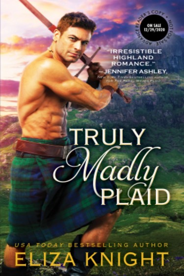 Truly Madly Plaid by Eliza Knight | Book Review