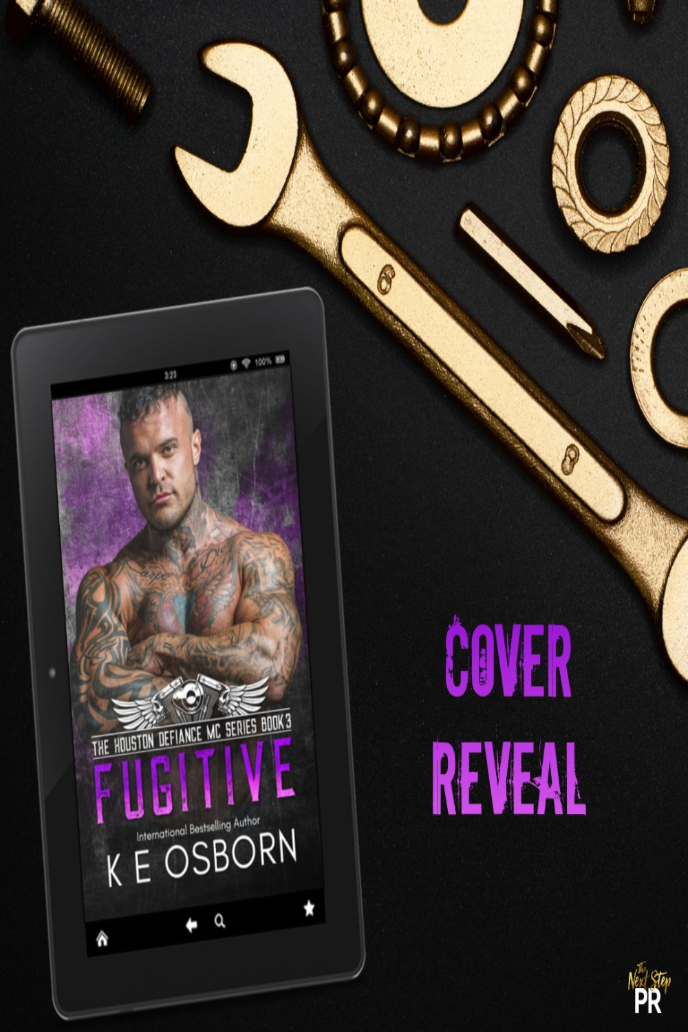 Fugitive by KE Osborn Cover Reveal