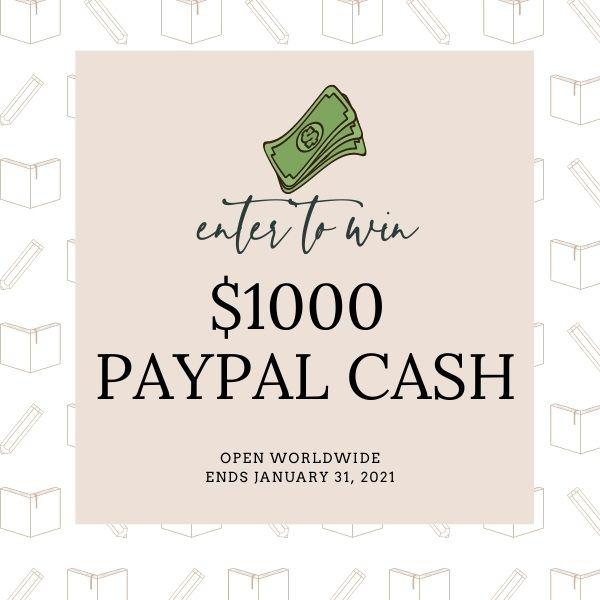 $1000 PayPal Cash