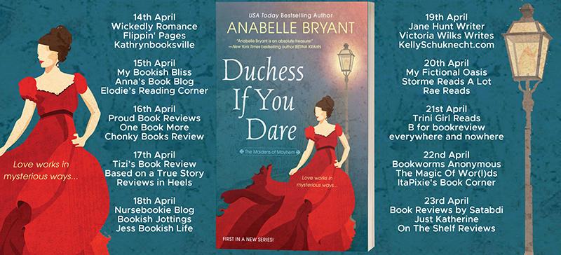 Duchess If You Dare Full Tour Banner