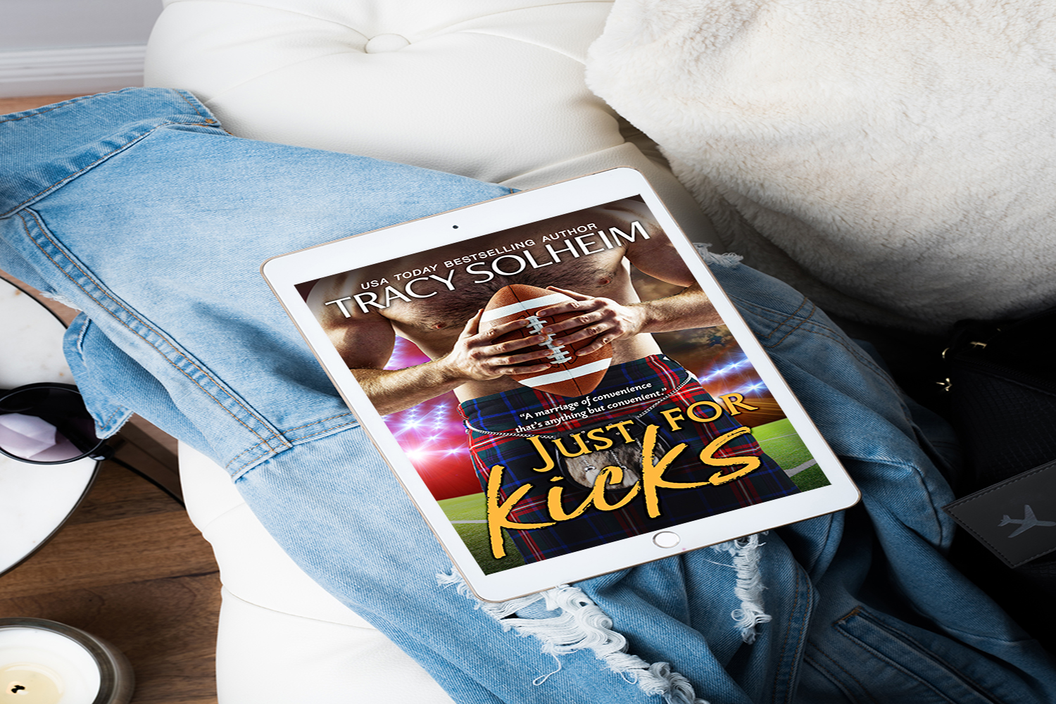 Just for Kicks by Tracy Solheim