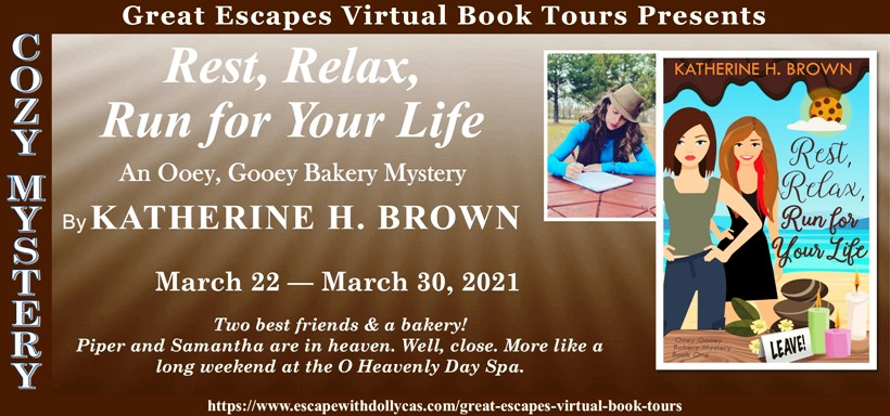 Rest, Relax, Run for Your Life by Katherine H. Brown | Character Guest Post