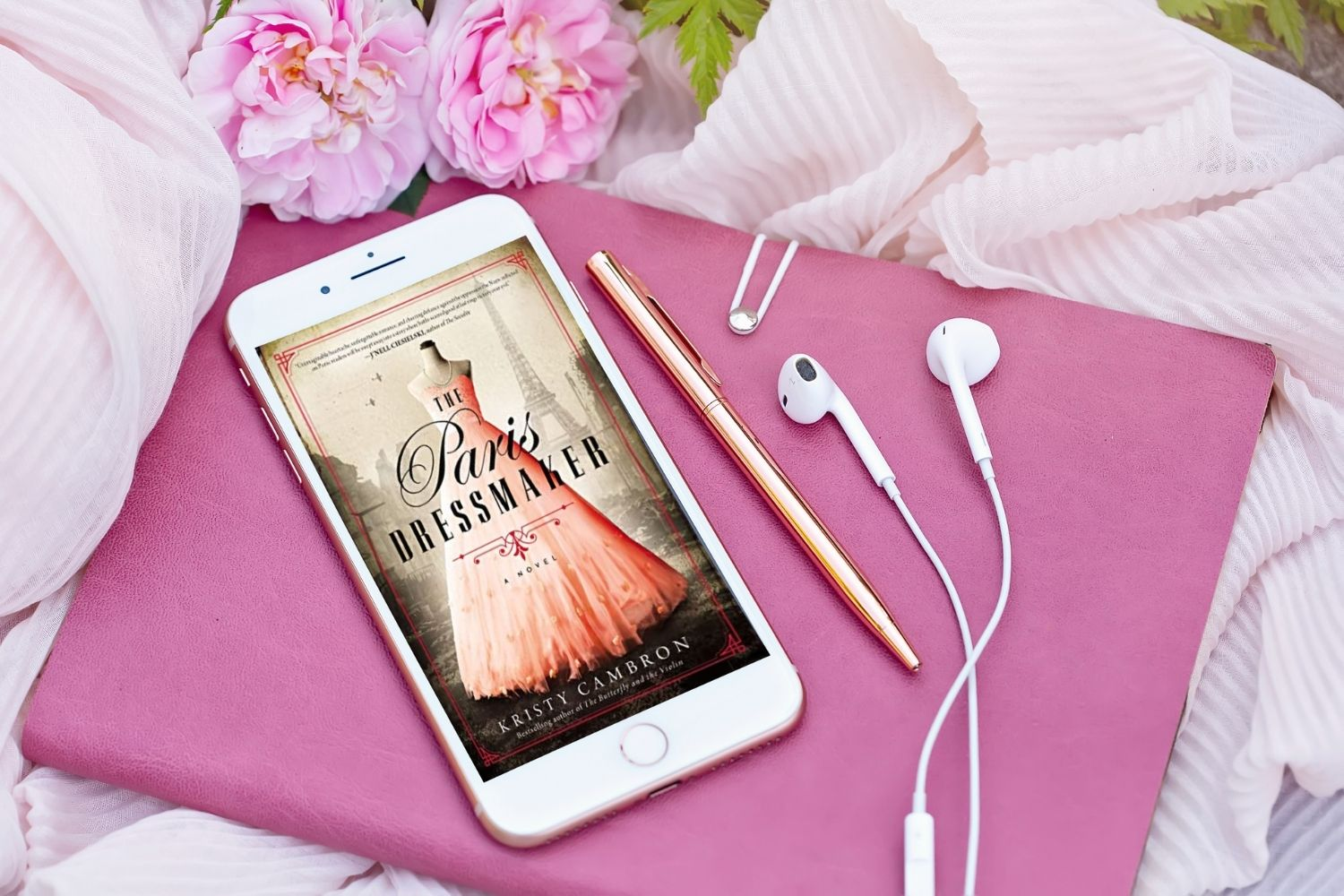 The Paris Dressmaker at Wickedly Romance