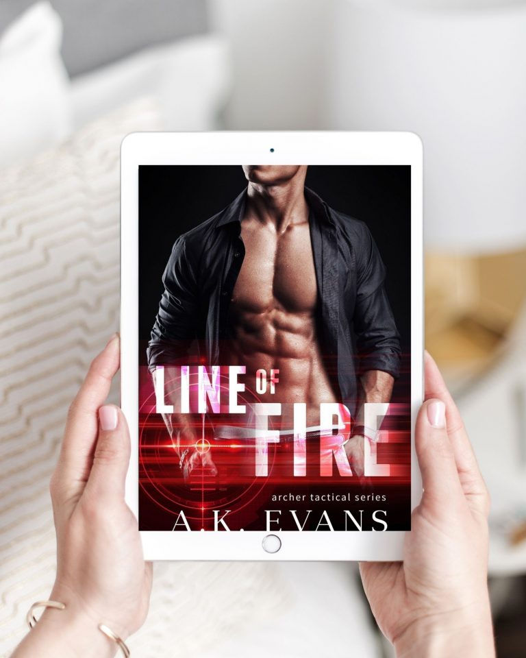 Line of Fire by A.K. Evans | Book Review