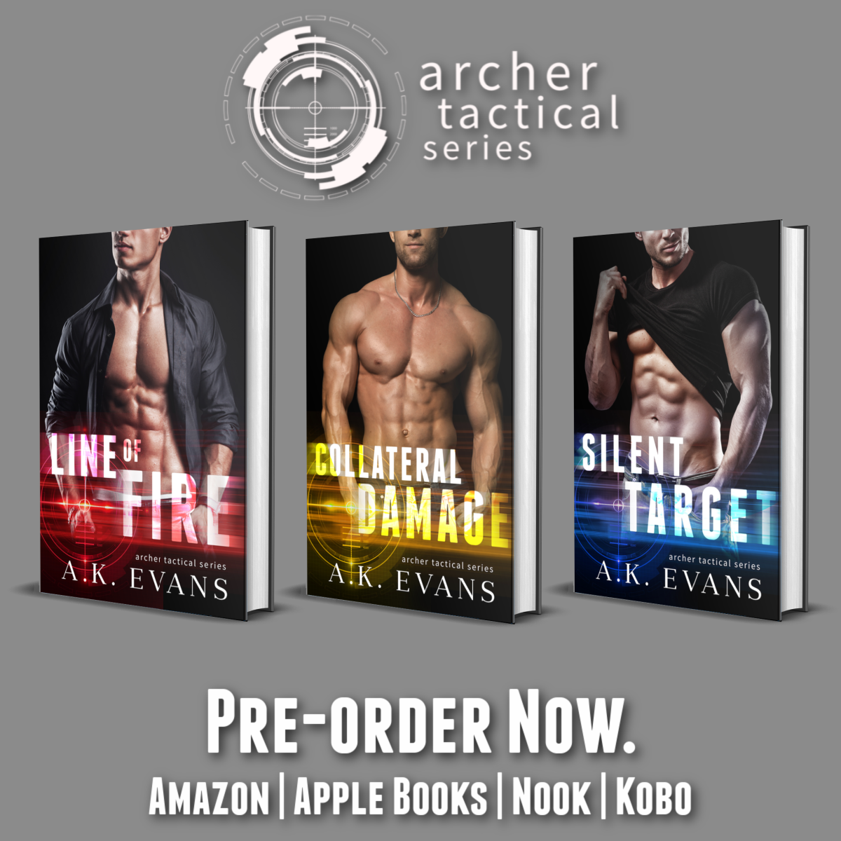Archer Tactical Series | Cover Reveal