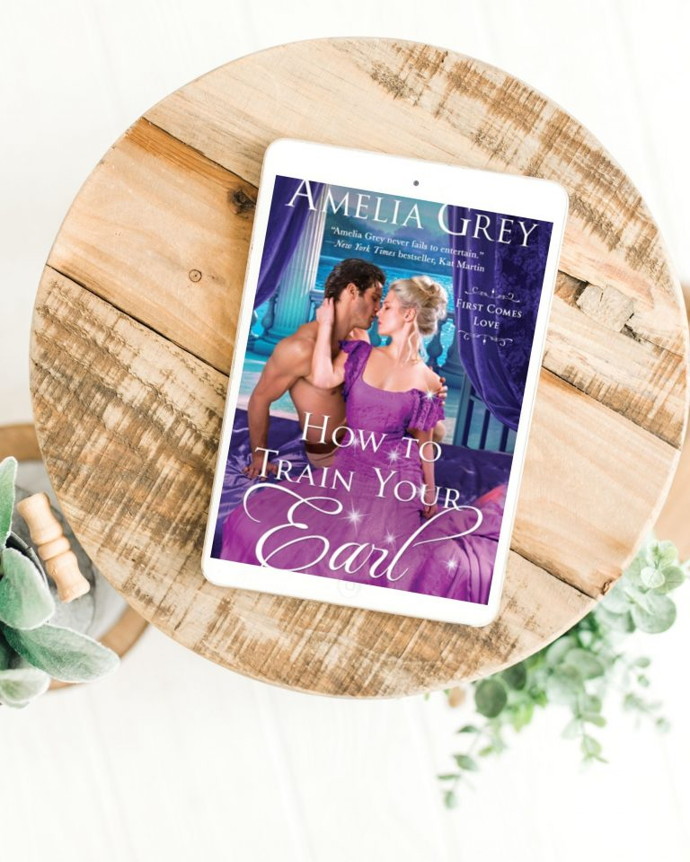 How To Train Your Earl by Amelia Grey | Book Review