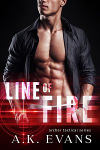 Line of Fire Ebook Cover
