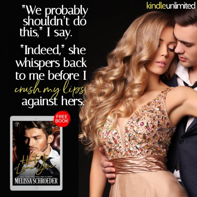 Hate to Love You by Melissa Schroeder Teaser 2