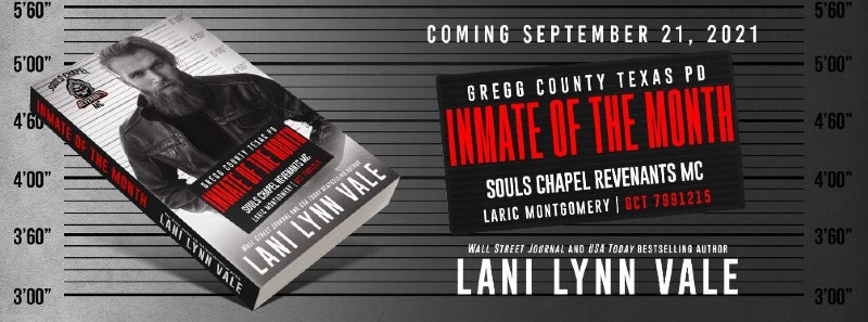 Inmate of the Month by Lani Lynn Vale | Cover Reveal
