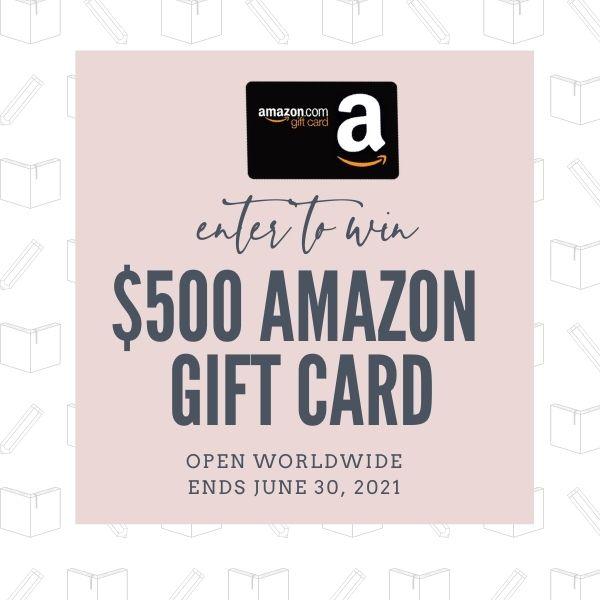 $500 Amazon GC - 2 Winners