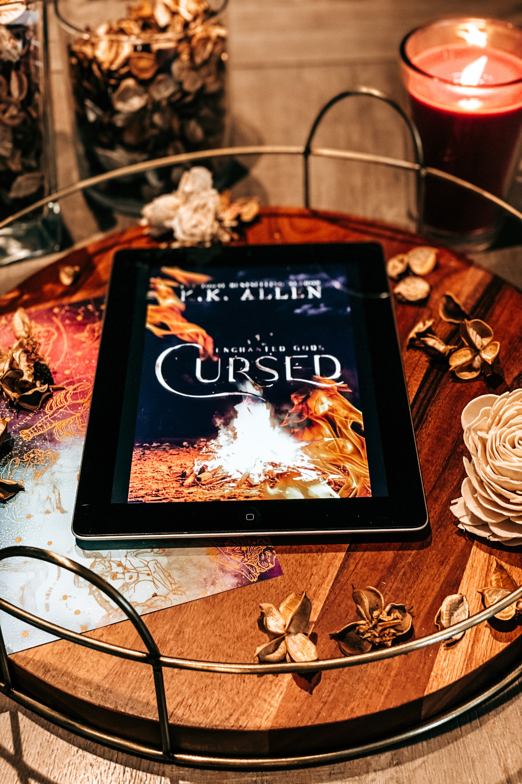 Cursed Review at Wickedly Romance