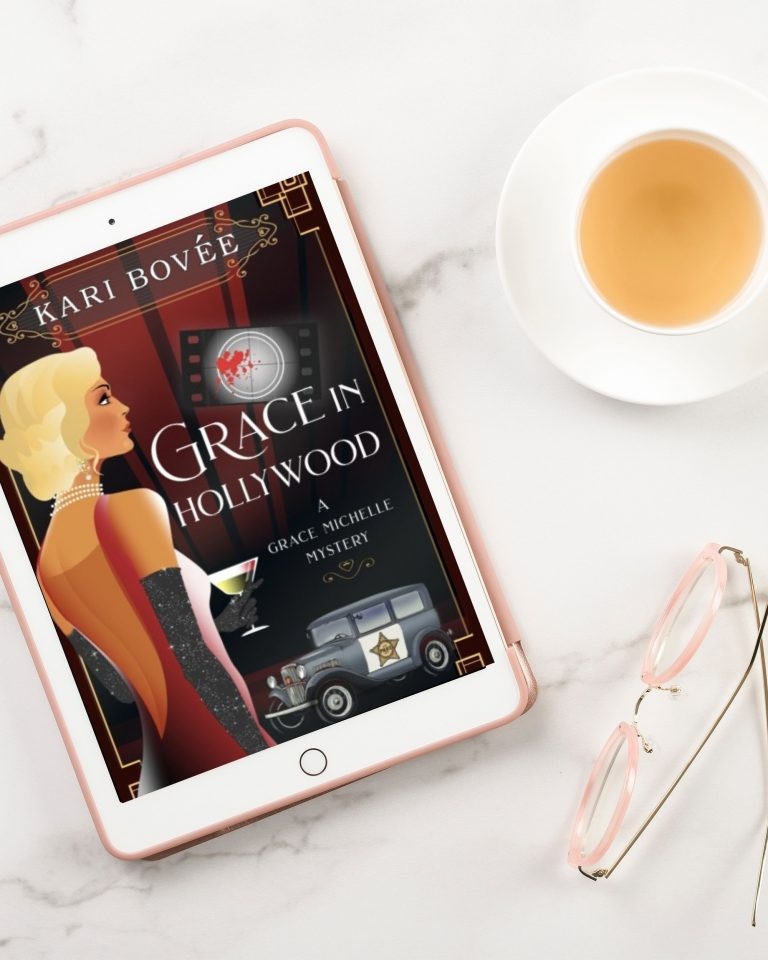 Grace in Hollywood by Kari Bovee   Book Review + Author Interview