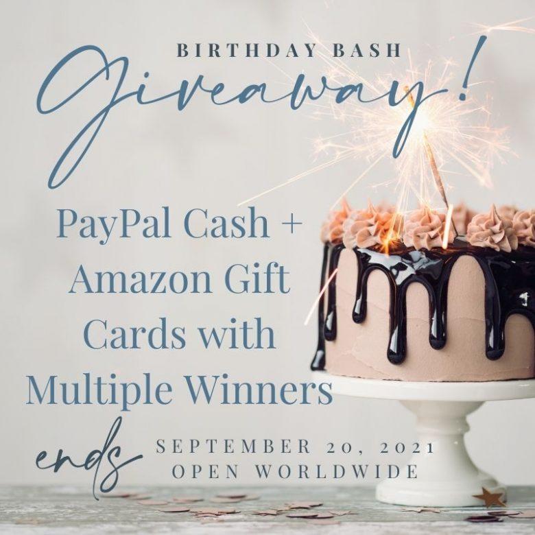 Birthday Bash RR Giveaway