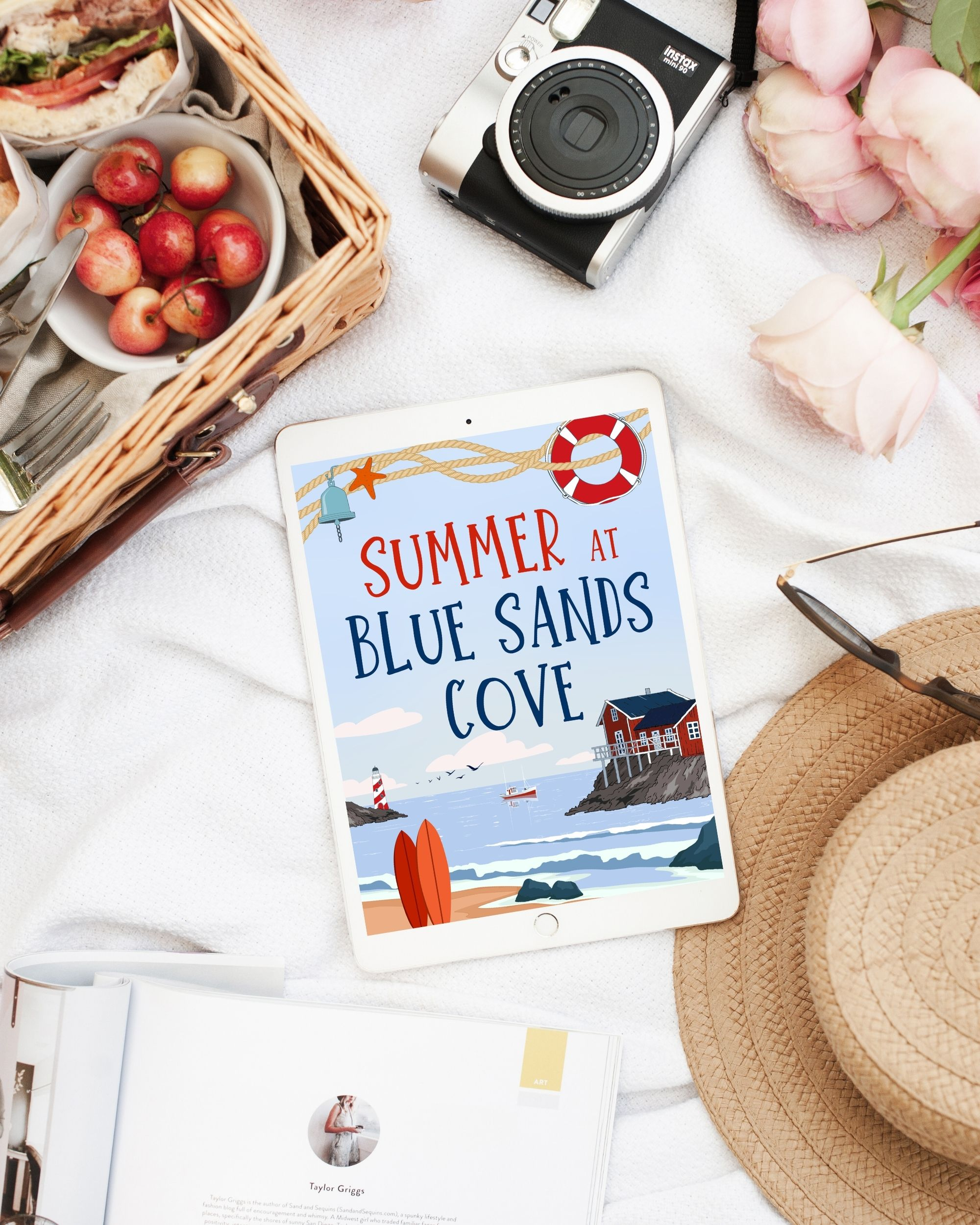 Summer at Blue Sands Cove by CP Ward Review - Wickedly Romance