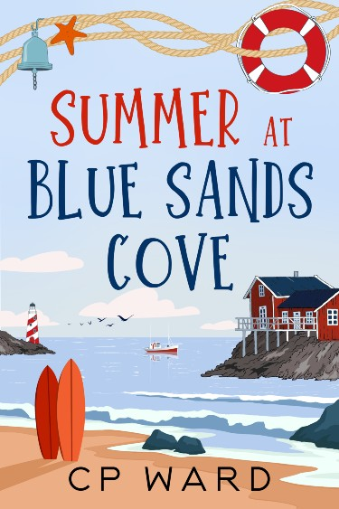 Summer at Blue Sands Cove by CP Ward   Review