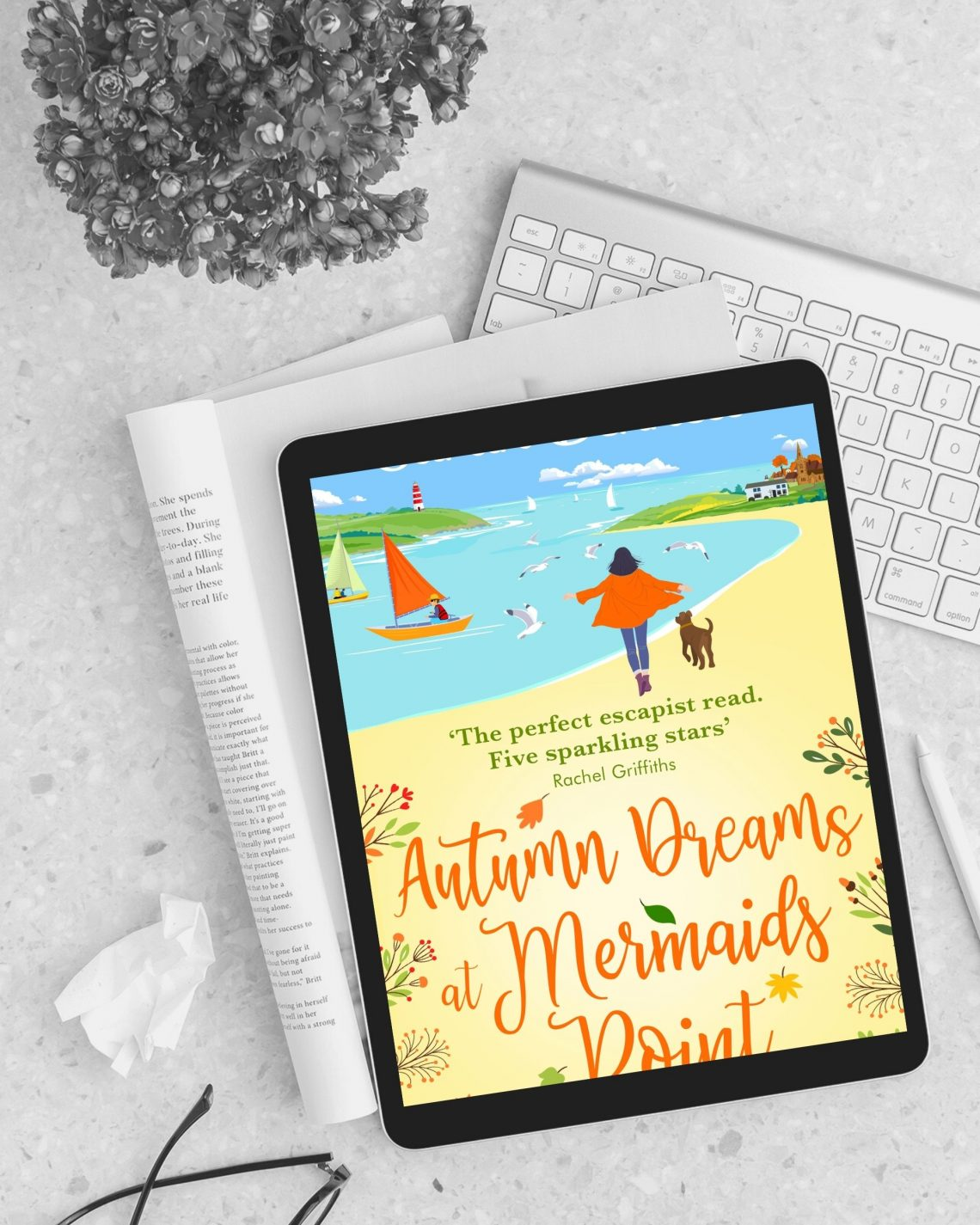 Autumn Dreams at Mermaids Point by Sarah Bennett- Wickedly Romance
