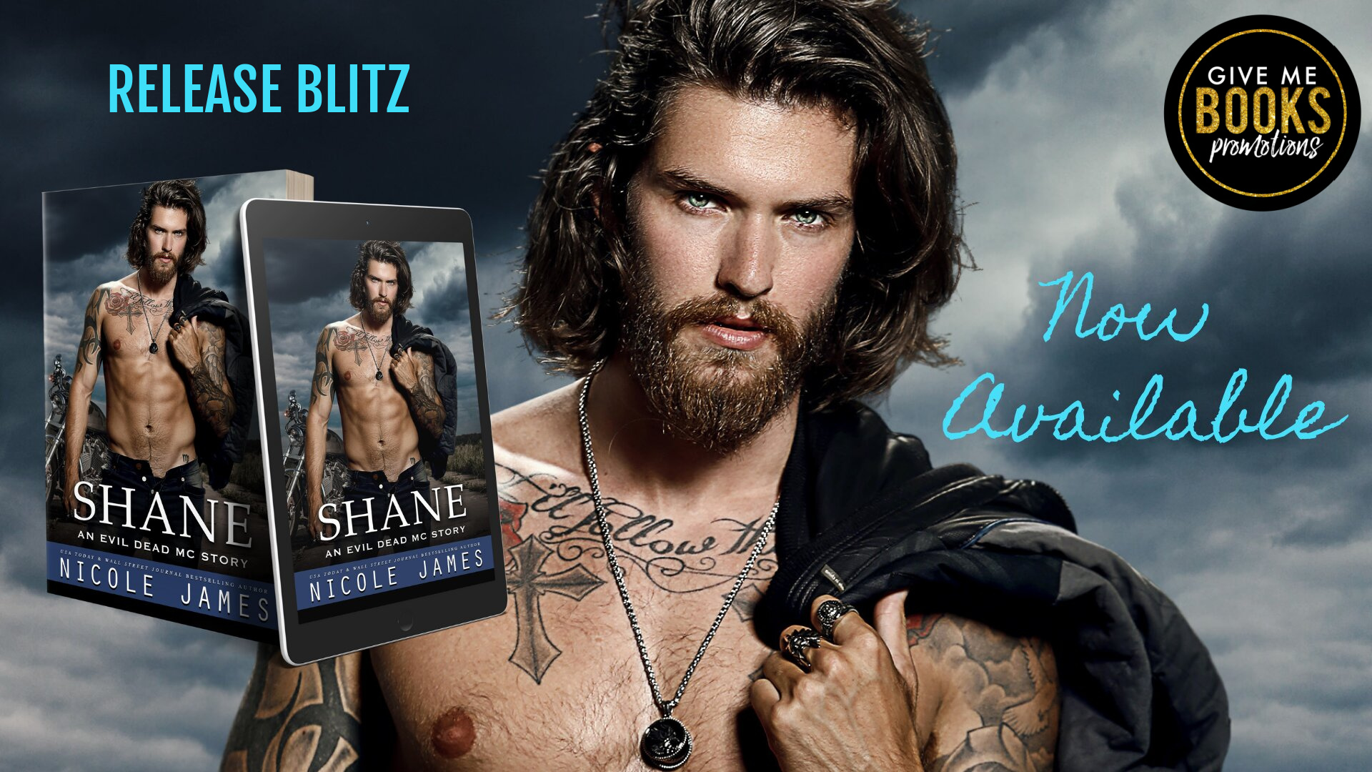 Shane by Nicole James   Release Day
